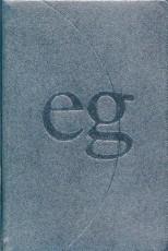 Evangelisches Gesangbuch (EG 45): Echtleder schwarz