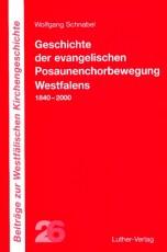 Schnabel: Geschichte der evangelischen Posaunenchorbewegung