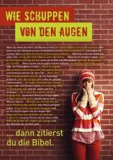 Postkarte Wie Schuppen DIN A5