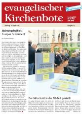 Evangelischer Kirchenbote - Sonntagsblatt für die Pfalz