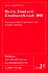Hey (Hg.): Kirche, Staat und Gesellschaft nach 1945